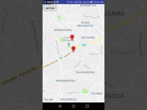 GPS Tracking Animation - Android - Google Maps - Part I