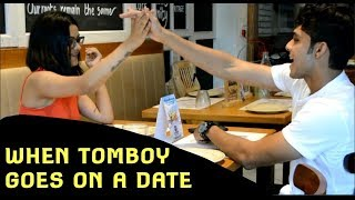 WHEN TOMBOY GOES ON A DATE! | That'So Nikayy