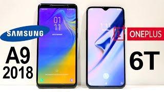 Samsung Galaxy A9 (2018) Vs Oneplus 6T Speed Test