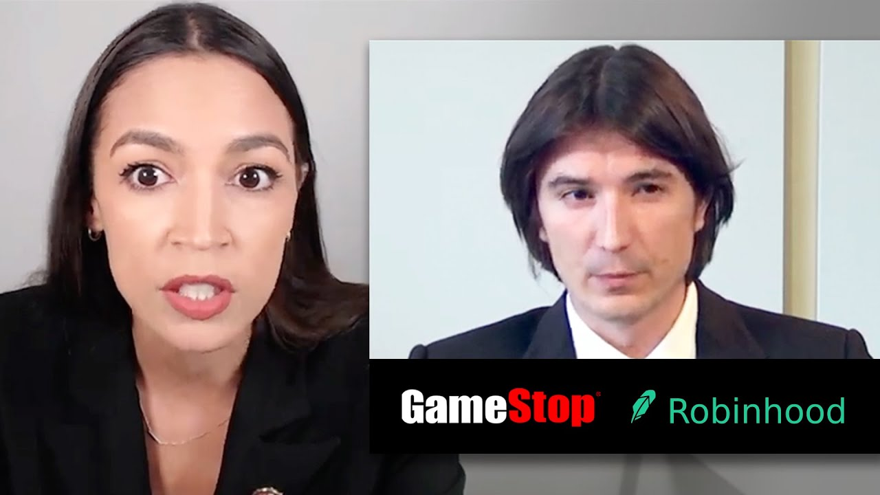 Congress hits Robinhood HARD! GameStop hearing in 10 minutes (supercut)