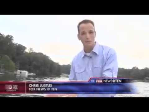 Capt. Gus interviewed on Fox Charlotte - www FishingWithGus com