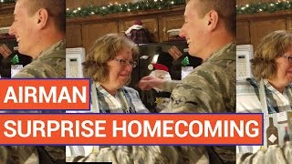 Soldier Surprises Parents with Homecoming for the Holidays Video 2016 | Daily Heart Beat