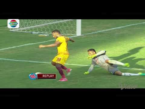 Final Juara 3 Piala Presiden 2018: Gol Manuchekhr Dzhalilov PSMS Medan (0) vs Sriwijaya FC (3)