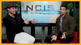 """NCIS"" star Wilmer Valderrama chats with Ruben Galvan at Comicpalooza"