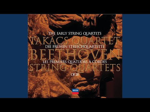 Beethoven: String Quartet No.1 In F, Op.18 No.1 - 1. Allegro Con Brio