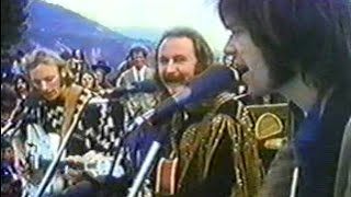 Crosby Stills Nash and Young 1969 12 14 Big Sur Festival - Down By The River