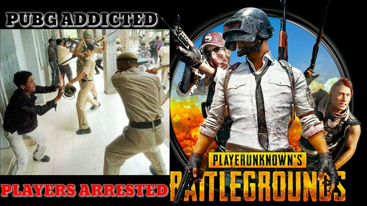 Pubg Addicted Players Now Arrested By Police  #Smartphone #Android