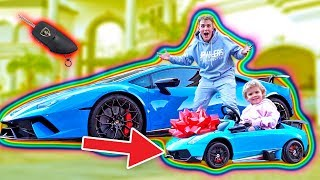 One of Jake Paul's most viewed videos: SURPRISING MINI JAKE PAUL WITH A MINI LAMBORGHINI!!