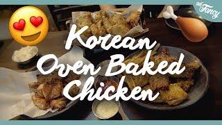 Korean OVEN BAKED Chicken? [Oppa Dak]
