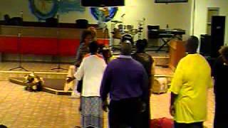 Prophetess Shirley McGee @ Blessed Hope C.O.GI.C. 5-30-15