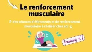 Le Live : Séance de renforcement musculaire n°2