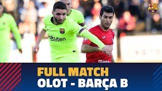 [PARTIDO COMPLETO] Olot - Barça B  (1-1) | 2ª División B