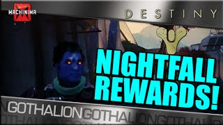 Destiny's Nightfall Difficulty Has Awesome Rewards!