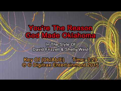 Shelly West & David Frizzell - You're The Reason God Made Oklahoma (Backing Track)