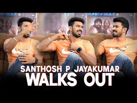 Santhosh P Jayakumar: Why should I answer your questions?   Irandam Kuthu   Reeling In   IAMK2