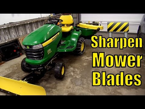 Lawn Mower Blade Sharpening Techniques, Tips & Tools