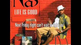 Nas - Stay (Lyrics On Screen)
