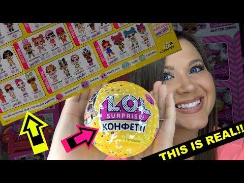 Russian Edition? LOL surprise Confetti pop Series 3 wave 2 dolls L.O.L Series 3 wave 2 confetti pop
