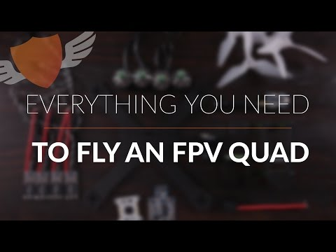 Everything you need to fly an FPV Quadcopter // Hardware Int