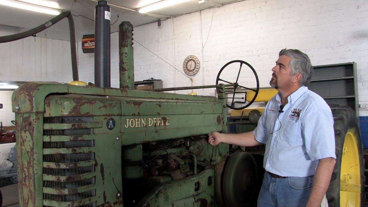 1949 john deere model a tractor carburetor troubleshooting vintage tractors [ 1280 x 720 Pixel ]