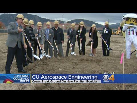 Groundbreaking For New Aerospace Engineering Building
