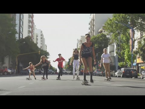 Skate femenino en Mar del Plata