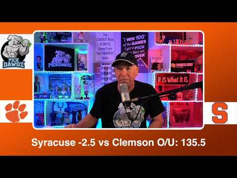 Syracuse vs Clemson 3/3/21 Free College Basketball Pick and Prediction CBB Betting Tips