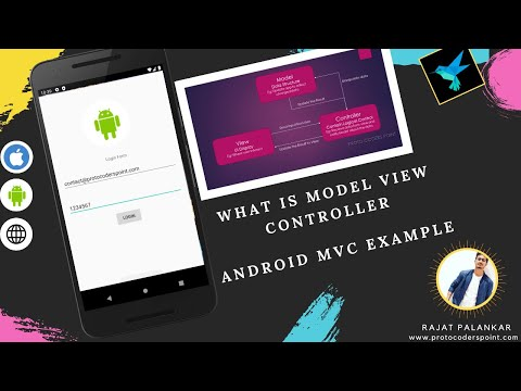 MVC   Model View Controller   Android MVC Example Login Validation