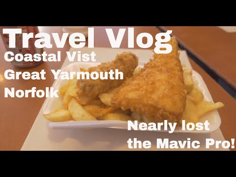 Coastal Visits - Great Yarmouth (Nearly lost drone!)