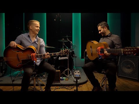 Flat Pick Vs. Fingerstyle - the amazing Olli Soikkeli and Cesar Garabini