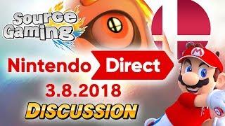 Nintendo Direct 3.8.2018 Discussion