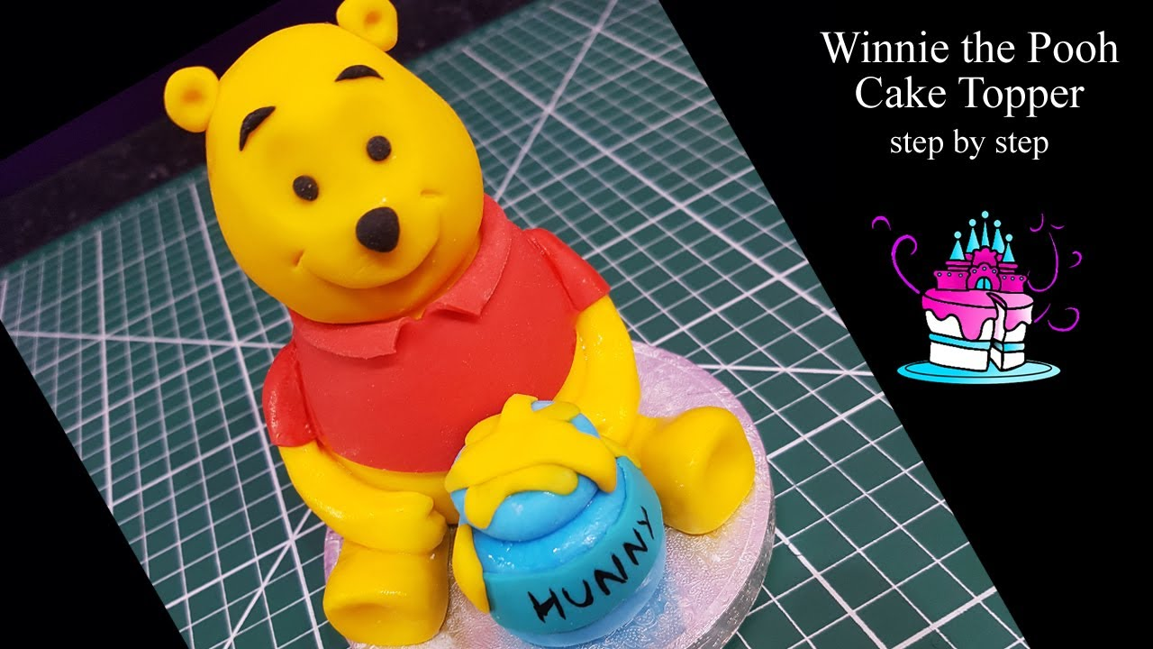 Winnie The Pooh Cake Topper Youtube