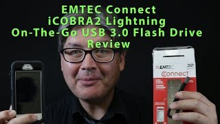 EMTEC Connect iCOBRA2 Lightning On The Go USB 3.0 Flash Drive Review