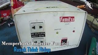 Memperbaiki Inverter Fumitsu Rusak Tidak Hidup