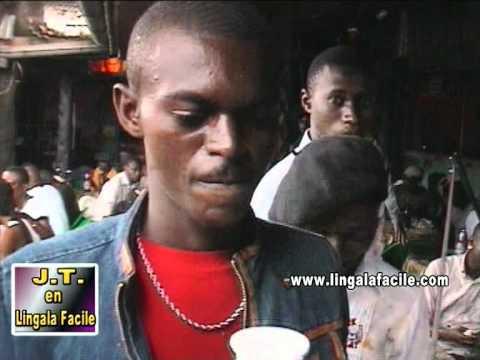 Rhum de Kwilu dans le journal Lingala facile (dégustation en bar)