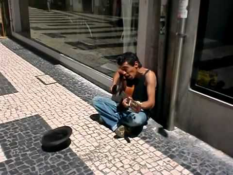 Nirvana Heart Shaped Box cover by street musician