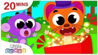 Pop Goes the Weasel, Chase Lost His Nose, No No Swimming Safety Tips, Kids Songs by Little Angel