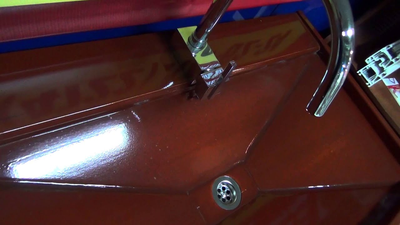 Деревянная раковина. Деревянная ванна. Мебель из тика - YouTube