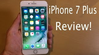 iPhone 7 Plus Full In-Depth Review--32GB Gold