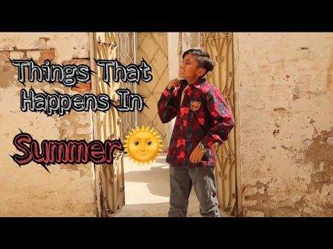 Things That Happens In Summer | Just Chill Bro |