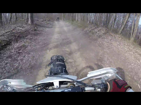 YZ450F Shady Spring to Whitby 4-15-17