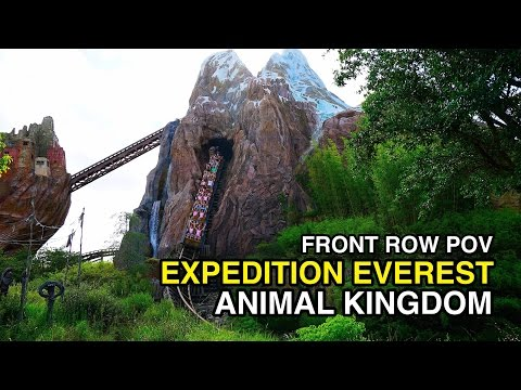 [4K] Expedition Everest - Legend of the Forbidden Mountain : Animal Kingdom (Orlando, FL)