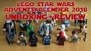 LEGO Star Wars Adventskalender 2018 (75213) Unboxing & Review
