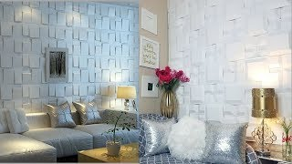 Diy Inexpensive Accent Wall Decor For $4!!!|quick And Easy Dollar Tree Wall Decorating Idea!