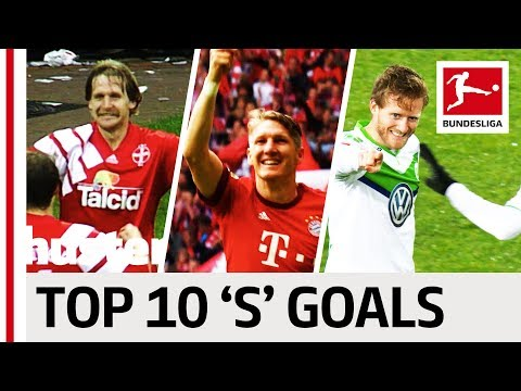 "Schweinsteiger, Sané & Schürrle - Top 10 Goals - Players With ""S"""