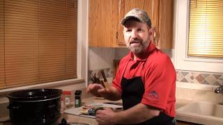 RABBIT STEW - Cooking wild game -  Wild Rabbit Stew -  Uncle Bucky's Wild Kitchen