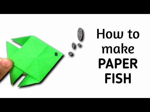 How To Make An Origami Paper Fish #3 | Origami / Paper Folding Craft, Videos And Tutorials.