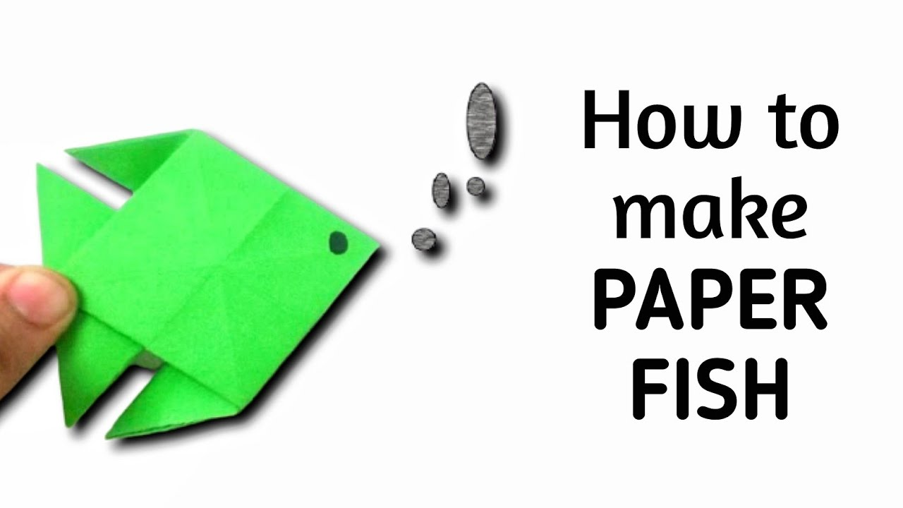 how to make an origami paper fish 6 origami paper