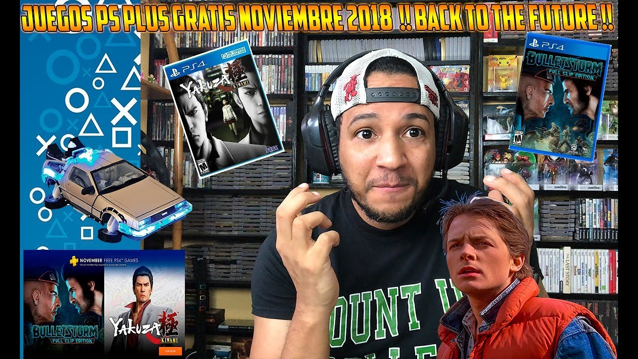Oficial Juegos Ps Plus Gratis Noviembre 2018 Back To The Future