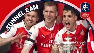 EXTENDED EMIRATES FA CUP FINAL TUNNELCAM! Arsenal v Chelsea 2017